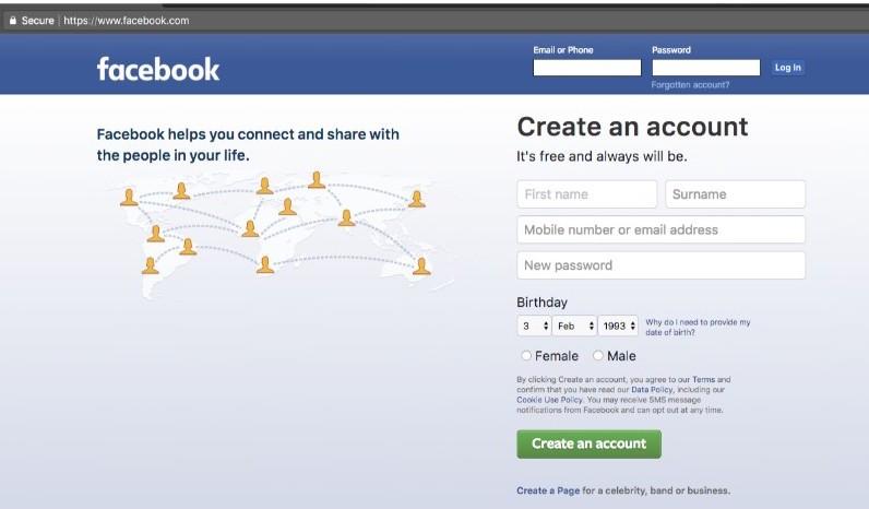 Facebook desktop version for Android