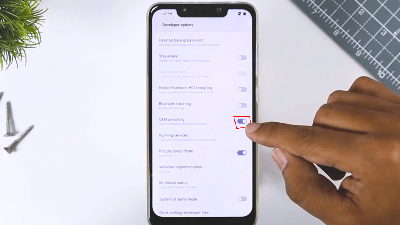 How to Unlock POCO F1 Bootloader