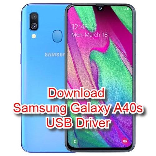 Samsung Galaxy A40s Usb Drivers