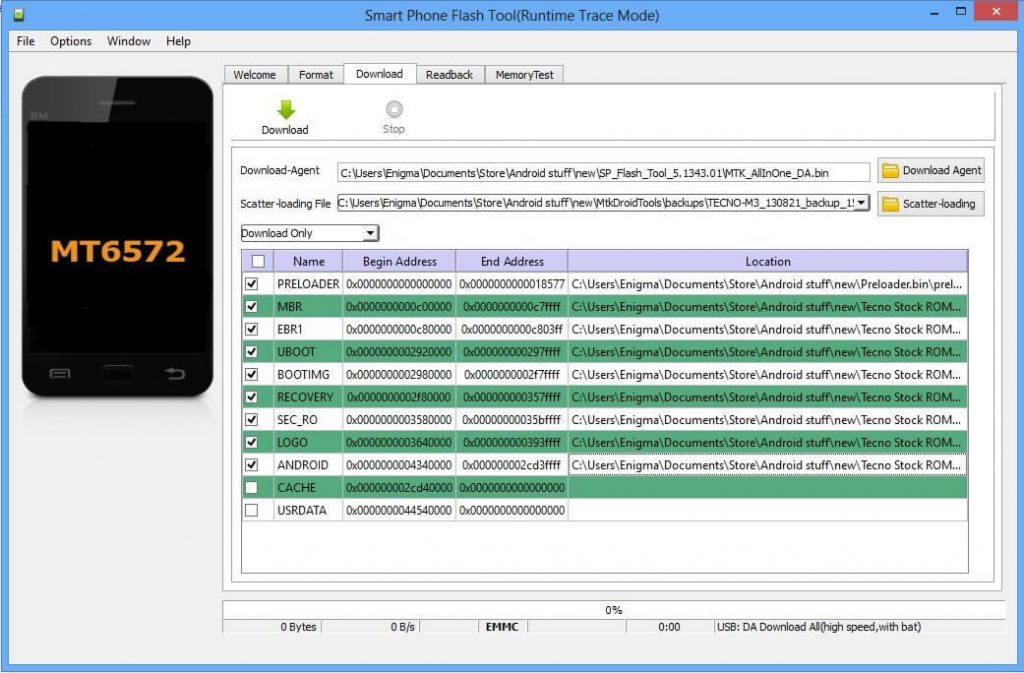 SP Flash Tool Download & How to use Smart Phone Flash Tool 3
