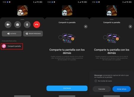 Share Screen Video Calls Messenger Facebook