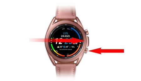 Screenshots Samsung Galaxy Watch