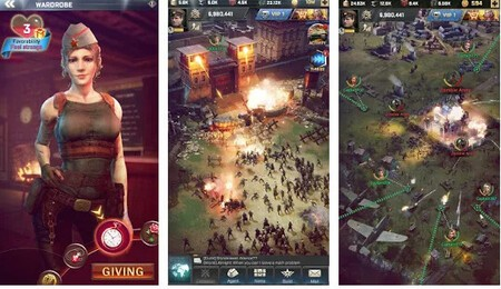 'Dead Empire: Zombie War', a mobile strategy game with multiplayer combat and in-app purchases 1